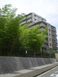 ララヒルズ外観:10階建て高層棟の9階にお住まいです